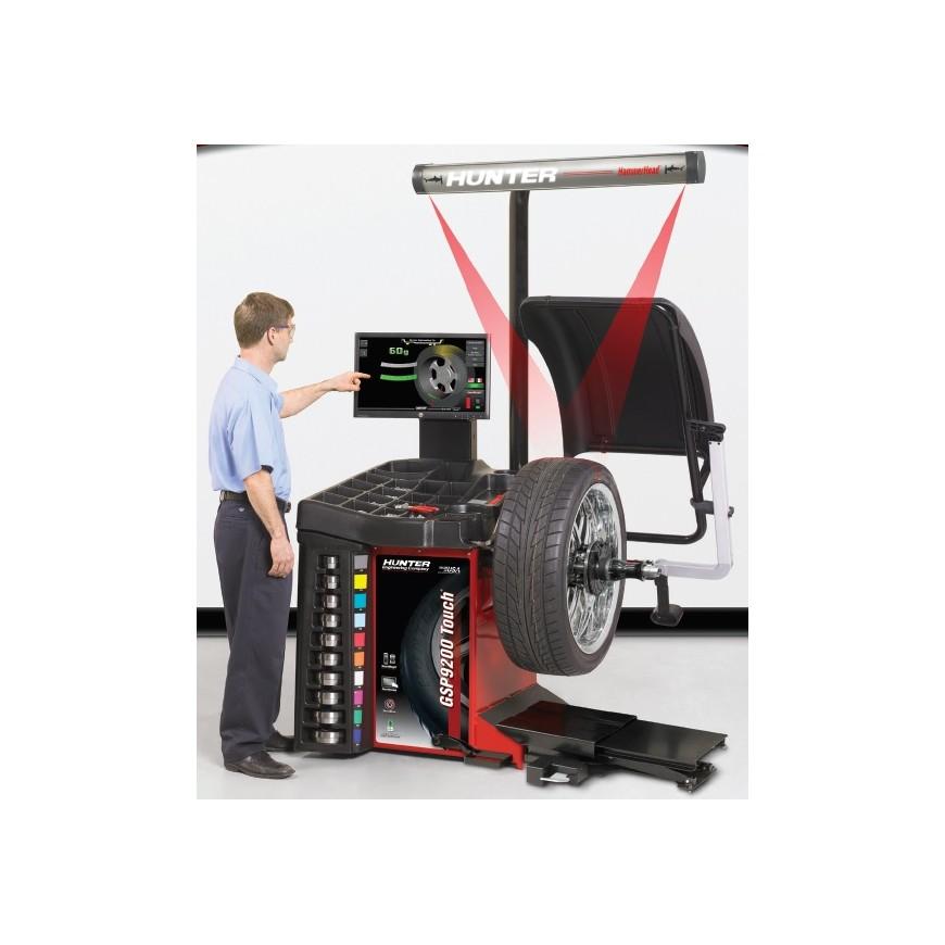 hunter gsp 9200 touch equilibreuse de roues voiture et camionnettes. Black Bedroom Furniture Sets. Home Design Ideas