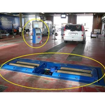 Remmentestbank voor trucks MAHA IW7
