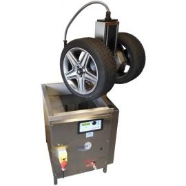Wiel wassen met ultrasoon- TIRESONIC wielwasmachine - lavage des roues à ultrasons