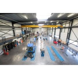 Werkplaats Van Dyck landbouwmachines in Houtvenne