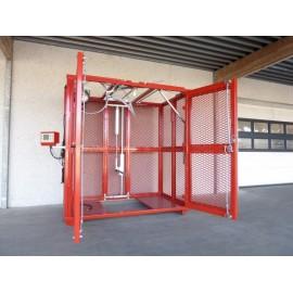 Cage de sécurité Ahcon avec portières latérales
