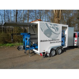 Bandenservice trailer