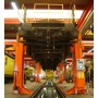 Colonnes de levage pour chassis train et tram
