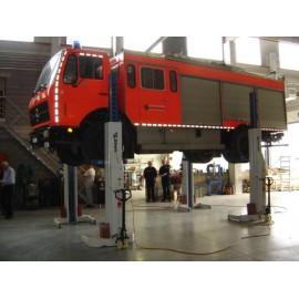 Nordlift bij de brandweer van Doornik
