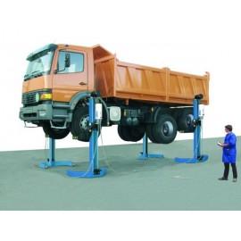 Colonnes de levage poids-lourd MAHA RGE 5 tonnes
